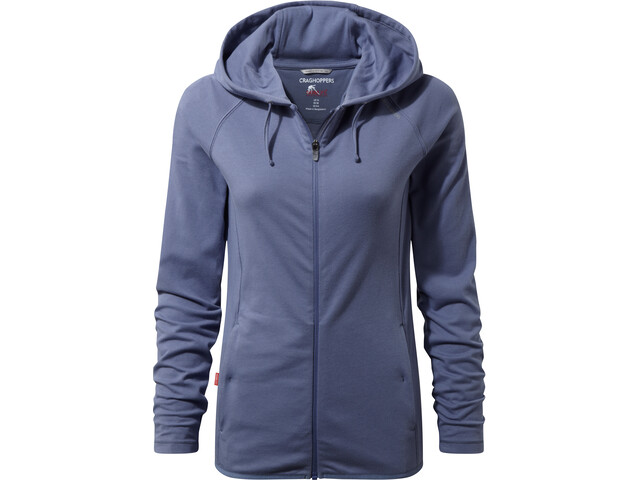 Craghoppers NosiLife Sydney Hooded Top Women china blue
